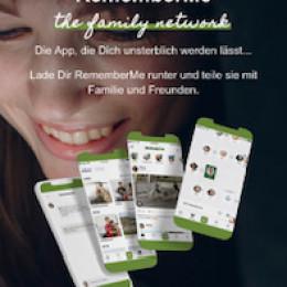 Deutschlands erste Social-Media App RememberMe