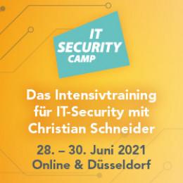 IT Security Camp im Juni 2021