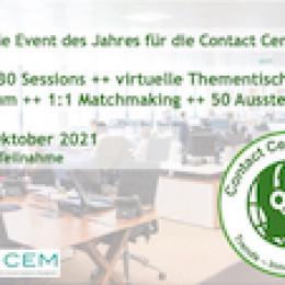 Contact Center Summit 2021 – Das virtuelle Event des Jahres