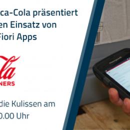 Ein Lebenslauf für jede Flasche: Coca-Cola präsentiert den praktischen Einsatz von mobilen SAP Fiori Apps