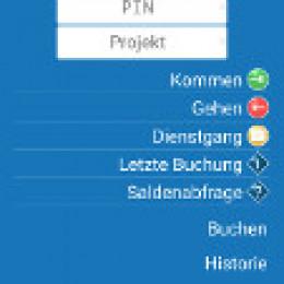 Zeit und Ort bei der mobilen Zeiterfassung von Flintec