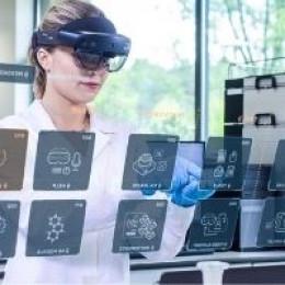 Gemischte Realität verändert die Laborarbeit in der Pharmabranche