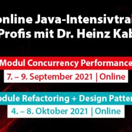 Extreme Java Camp: Das Java-Intensivtraining für Profis in drei Modulen